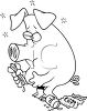 Pig Who Ate Too Much clipart