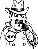 News Field Anchor clipart
