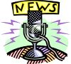 News Broadcasting Microphone clipart