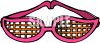 Funky Sunglasses clipart