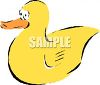 Yellow Rubber Duck clipart