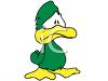 Depressed Little Duck clipart