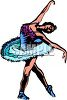 Graceful Ballet Dancer clipart