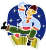 Russian Dancer clipart