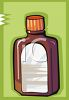 Bottle of Medicine clipart