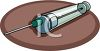 Modern Hypodermic Needle clipart