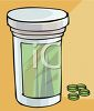 Prescription Bottle clipart