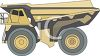 Articulated Dump Truck clipart