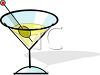 Martini in a Glass clipart