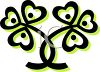 Clover Leaf Graphic clipart