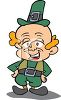 Little Bald Leprechaun clipart