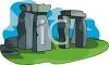 Stonehenge-English Monument clipart