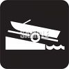 Outdoor Recreation Icons-Boat  Ramp clipart