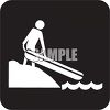 Outdoor Recreation Icons-Rafting Area clipart
