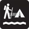 Outdoor Recreation Icons-Campground  clipart