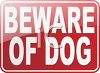 Beware of Dog Sign clipart