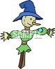 Cute Little Scarecrow clipart