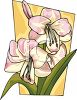 Lovely Easter Lilies clipart