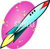 Science Fiction Rocket clipart