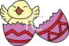 Chick Happy to Be Born clipart