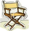 Director's Chair clipart
