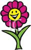 Smiling Little Daisy clipart