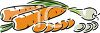 Carrots and Onions clipart