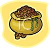 Bag of Coffee Beans clipart