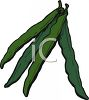 String Beans clipart