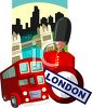 Tourism-London Travel Poster clipart