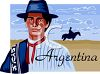 Tourism-Argentina Travel Poster clipart