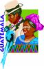 Tourism-Guatemala Travel Poster clipart