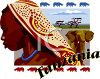 Tourism in Africa-Tanzania Travel Poster clipart
