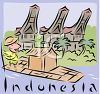 Tourism-Indonesia clipart