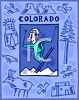 Tourism in the United States-Colorado clipart