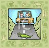Tourism in the United States-Arizona clipart