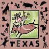 Tourism in the United States-Texas clipart