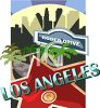 Tourism in the United States-Los Angeles clipart
