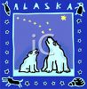 Tourism in the United States-Alaska clipart