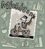 Tourism in the United States-Michigan clipart