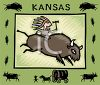 Tourism in the United States-Kansas clipart