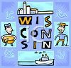 Tourism in the United States-Wisconsin clipart