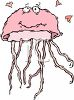 Jellyfish in Love clipart