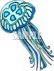 Man Of War Jellyfish clipart
