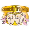 Drama Mask of Comedy and Tragedy clipart