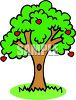 Bright Apple Tree clipart