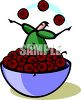 Life is a Bowl of Cherries clipart