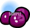Purple Plums clipart