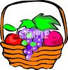 Fruit Basket clipart