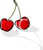 Red Cherries clipart